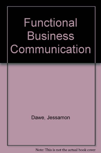 9780133317695: Functional Business Communication