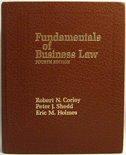 9780133318449: Fundamentals of Business Law