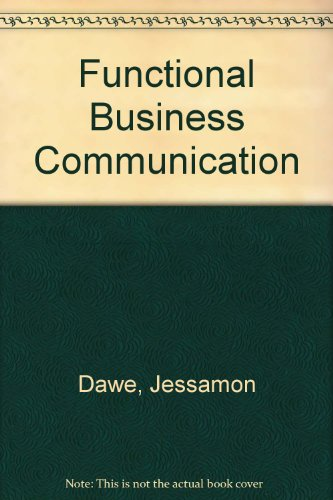 9780133320077: Functional Business Communication
