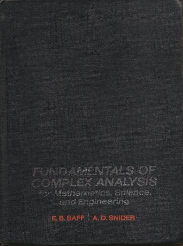 9780133321487: Fundamentals of Complex Analysis for Mathematics, Science and Engineering