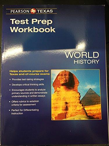 World History, Test Prep Workbook, Texas Edition,: Always Learning