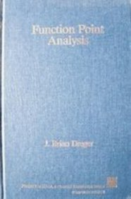 9780133323214: Function Point Analysis (Prentice Hall advanced reference series)