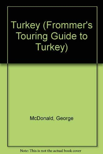 9780133323962: Frommer's Touring Guides: Turkey (Frommer's Touring Guide to Turkey)