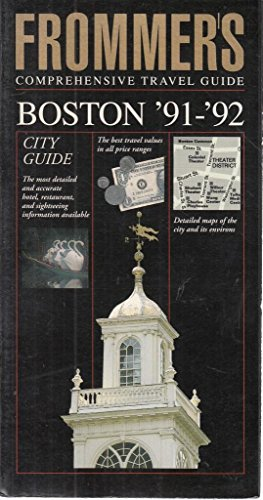 Frommer's Comprehensive Travel Guide: Boston '91-'92: McDonald, George