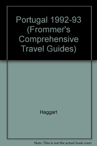 9780133335019: Frommer's Comprehensive Travel Guide: Portugal (Frommer's Portugal)