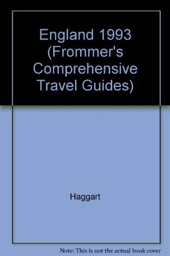 9780133336757: England 1993 (Frommer's Comprehensive Travel Guides)