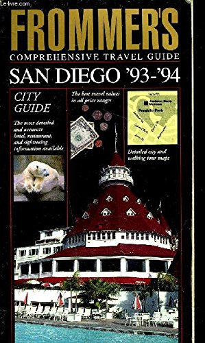 9780133339727: San Diego 1993-94 (Frommer's City Guides)