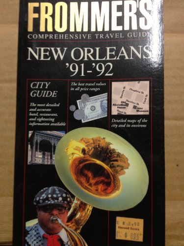 Frommer's City Guide to New Orleans, 1991-1992: McDonald, George