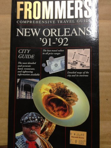 9780133344349: Frommer's City Guide to New Orleans, 1991-1992
