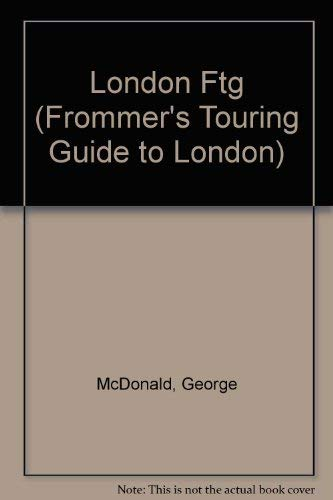 9780133345414: Frommer's Touring Guides: London (Frommer's Touring Guide to London)