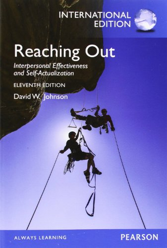 9780133347401: Reaching Out: Interpersonal Effectiveness and Self-Actualization