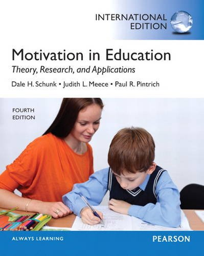 9780133347418: Motivation in Education: Theory, Research, and Applications: International Edition