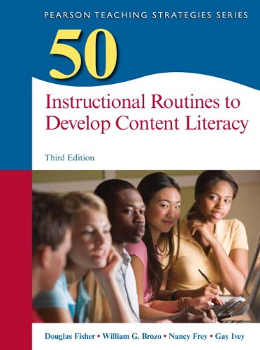 9780133347968: 50 Instructional Routines to Develop Content Literacy (3rd Edition) (Teaching Strategies Series)