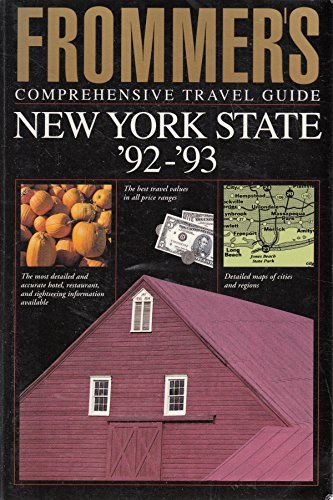 9780133348064: New York State '92-93 (Frommer's Comprehensive Travel Guides)