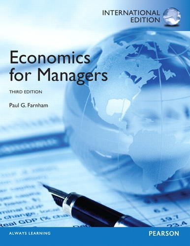 9780133349122: Economics for Managers