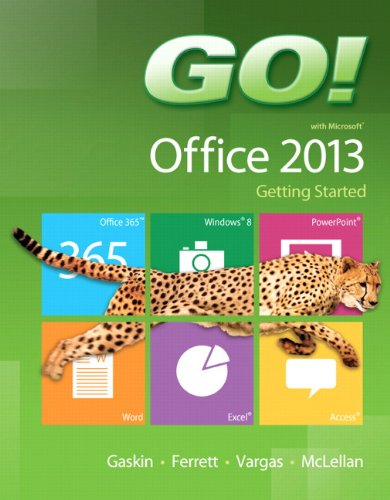 9780133349788: GO! with Microsoft Office 2013 Getting Started