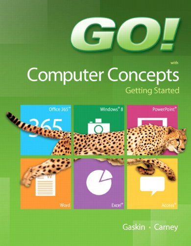 9780133349917: GO! with Computer Concepts Getting Started