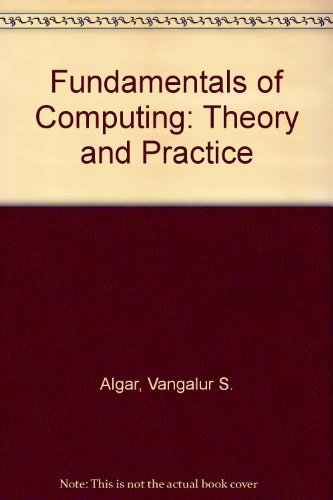 9780133353242: Fundamentals of Computing: Theory and Practice