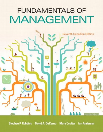 9780133353594: Fundamentals of Management, Seventh Canadian Edition Plus MyManagementLab with Pearson eText -- Access Card Package (7th Edition) [Paperback]