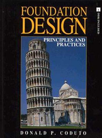 9780133353815: Foundation Design: Principles and Practices