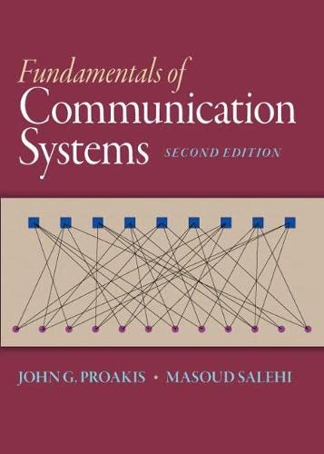 9780133354850: Fundamentals of Communication Systems