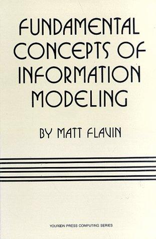 9780133355895: Fundamental Concepts of Information Modeling