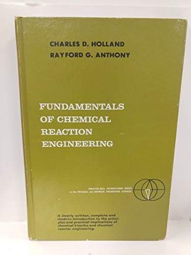 9780133355963: Fundamentals of Chemical Reaction Engineering (Prentice-Hall international series in the physical and chemical engineering sciences)
