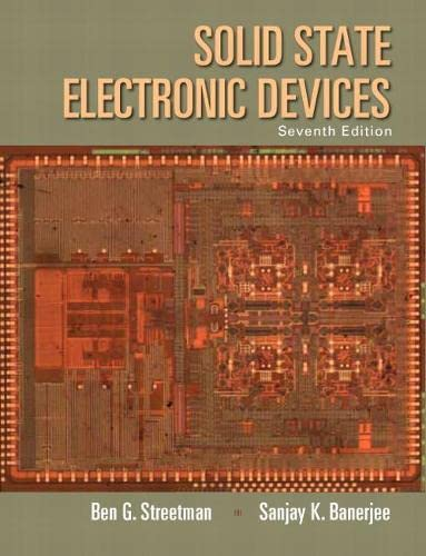 9780133356038: Solid State Electronic Devices (7th Edition)