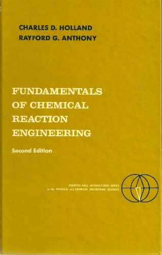 9780133356397: Fundamentals of Chemical Reaction Engineering (Prentice-Hall International Series in the Physical and Chemical Engineering Sciences)