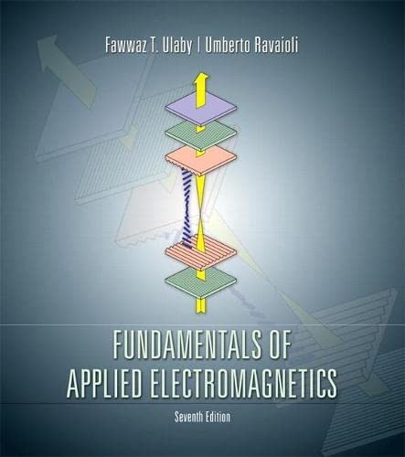 9780133356816: Fundamentals of Applied Electromagnetics (7th Edition)