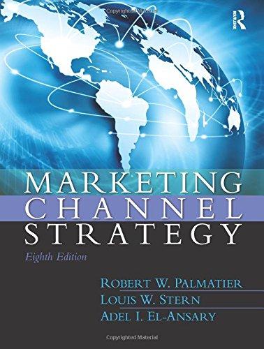 9780133357080: Marketing Channel Strategy