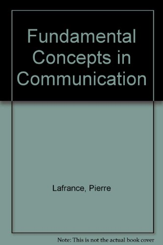 9780133357387: Fundamental Concepts in Communication