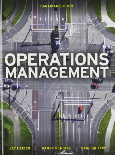 9780133357516: Operations Management, First Canadian Edition with MyOMLab