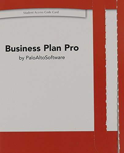 9780133359343: Business Plan Pro -- Access Code