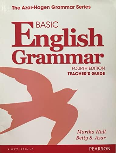 9780133360967: Basic English Grammar Teacher's Guide