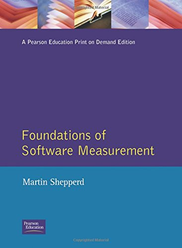 9780133361995: Foundations of Software Measurement