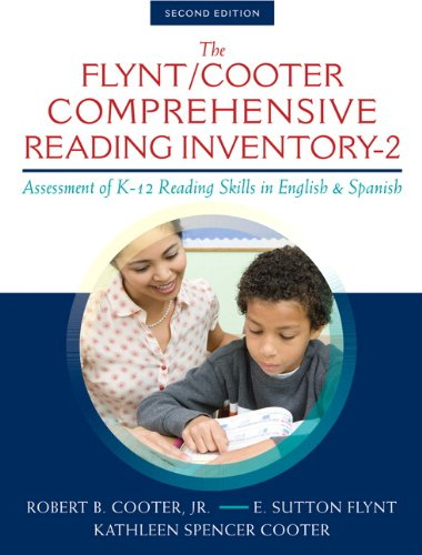 9780133362527: The Flynt/Cooter Comprehensive Reading Inventory-2: Assessment of K-12 Reading Skills in English & Spanish (2nd Edition)