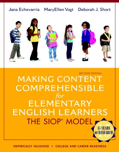9780133362602: Making Content Comprehensible for Elementary English Learners: The SIOP Model (2nd Edition)