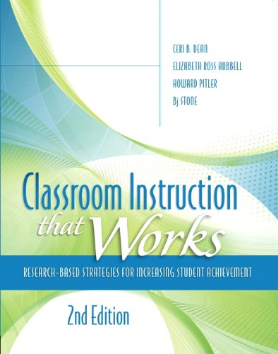 9780133366723: Classroom Instruction that Works: Research-Based Strategies for Increasing Student Achievement (2nd Edition) (Pearson Teacher Education / Ascd College Textbook)
