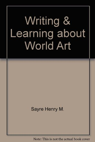 writing about art sayre