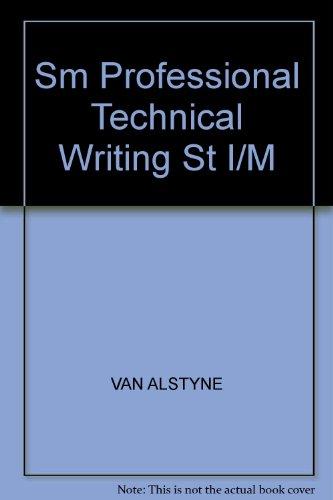 9780133369267: Sm Professional Technical Writing ST I/M