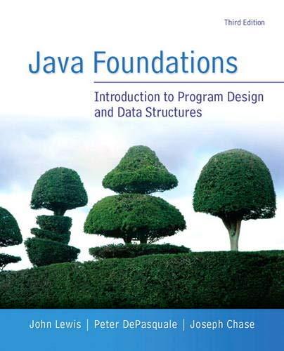 9780133370461: Java Foundations (3rd Edition)