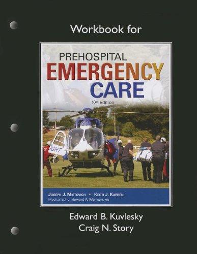 9780133371888: Workbook for Prehospital Emergency Care