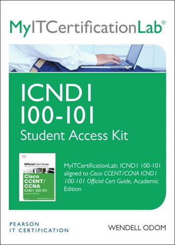 9780133372120: CCENT/CCNA ICND1 100-101 Official Cert Guide MyITCertificationLab -- Access Card