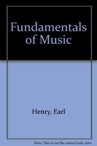 9780133372885: Fundamentals of Music