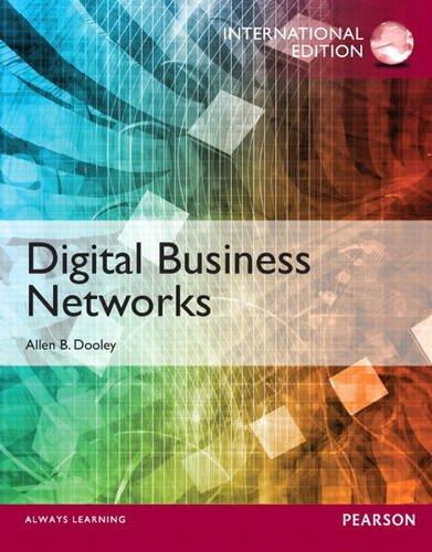 9780133373134: Digital Business Networks