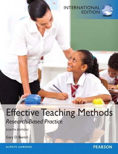 9780133373172: Effective Teaching Methods: Research-Based Practice: International Edition