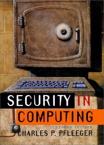 9780133374865: Security in Computing, Second Edition