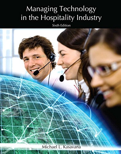 Managing Technology In The Hospitality Industry With: American Hotel ,