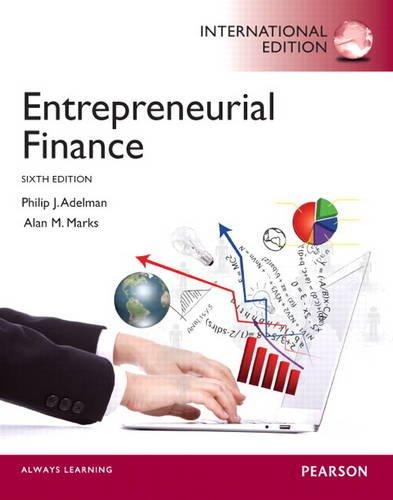 9780133376951: Entrepreneurial Finance